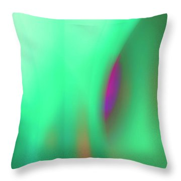 Abstract No. 11 Throw Pillow