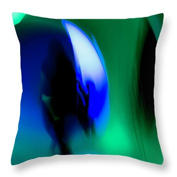 Abstract No. 2 Throw Pillow