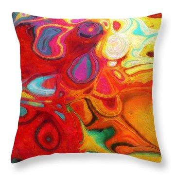 Abstract No. 20 Throw Pillow