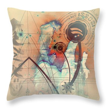 Abstract No 28 Throw Pillow