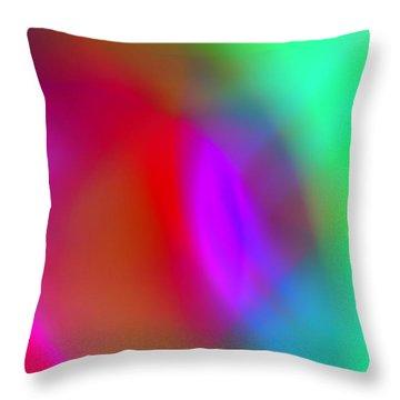 Abstract No. 3 Throw Pillow
