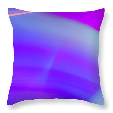Abstract No. 4 Throw Pillow
