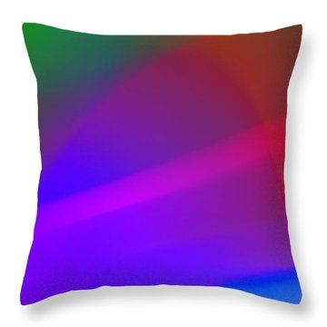Abstract No. 5 Throw Pillow