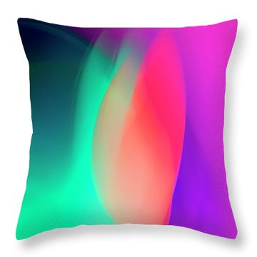 Abstract No. 6 Throw Pillow