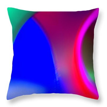 Abstract No. 9 Throw Pillow