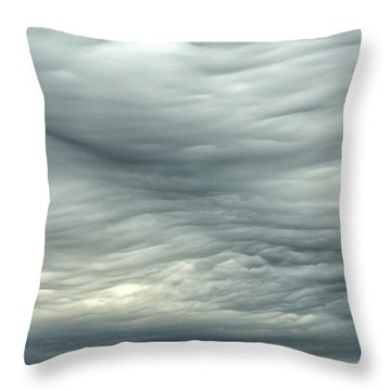 Abstract Of The Clouds 2 Throw Pillow