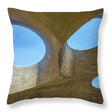Abstract Of The Roof Throw Pillow