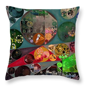 Abstract Painting - Chicago Throw Pillow by Vitaliy Gladkiy