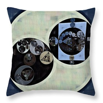 Abstract Painting - Madison Throw Pillow by Vitaliy Gladkiy