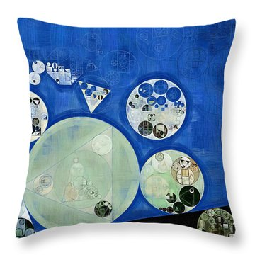 Abstract Painting - Rainee Throw Pillow by Vitaliy Gladkiy