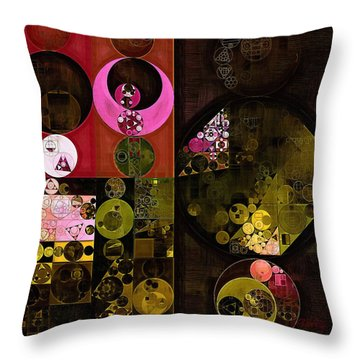 Abstract Painting - Tonys Pink Throw Pillow by Vitaliy Gladkiy