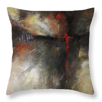 Abstract Pastel 1 Throw Pillow