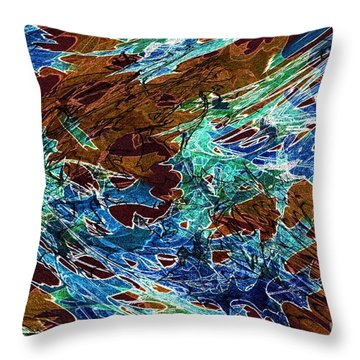 Abstract Pattern 6 Throw Pillow