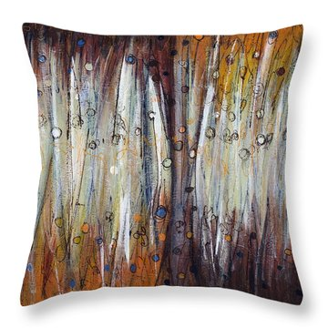 Abstract Patterns One Throw Pillow