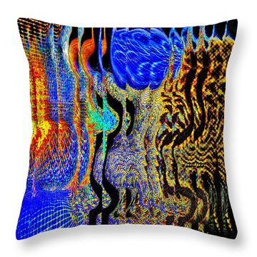 Abstract Photography 001-16 Throw Pillow by Mimulux patricia no No