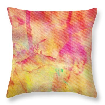 Abstract Photography 003-16 Throw Pillow by Mimulux patricia no No