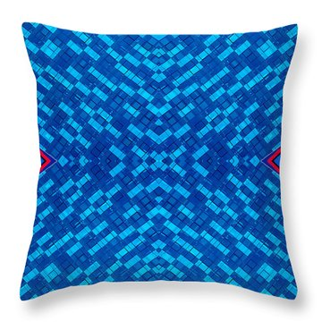 Abstract Photomontage No.4 Throw Pillow by Raymond Kunst