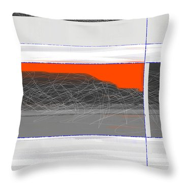 Abstract Planes Throw Pillow