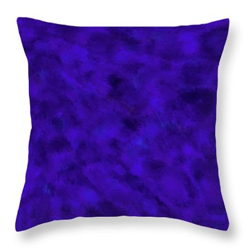 Throw Pillow featuring the photograph Abstract Purple 7 by Clare Bambers