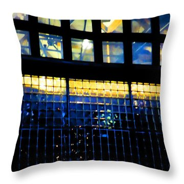 Abstract Reflections Digital Art #5 Throw Pillow