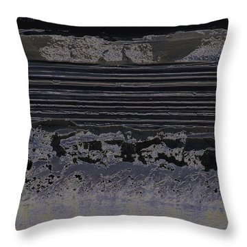 Abstract Ripples Throw Pillow