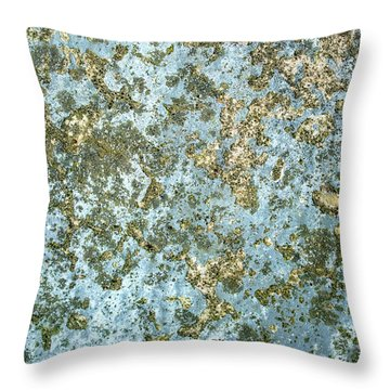 Abstract Rock Coral Reef Throw Pillow