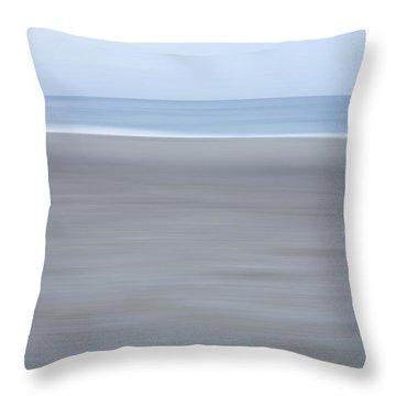 Abstract Seascape No. 10 Throw Pillow