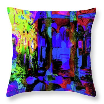 Abstract Series 0177 Throw Pillow