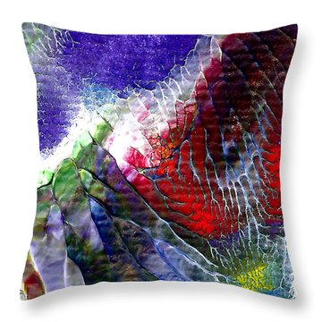 Abstract Series 0615a-3 Throw Pillow