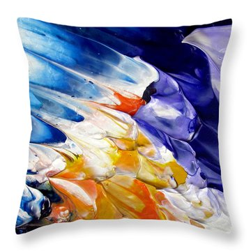 Abstract Series 0615a-4-l2 Throw Pillow