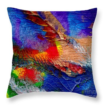 Abstract Series 0615a-5 Throw Pillow