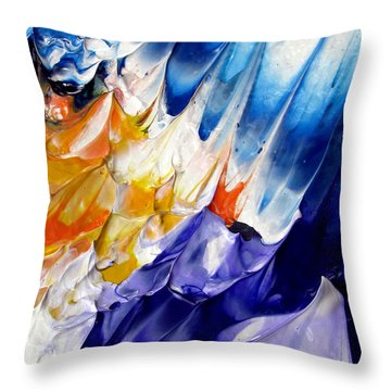 Abstract Series 0615a-6p1 Throw Pillow