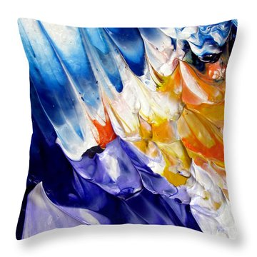 Abstract Series 0615a-6p2 Throw Pillow