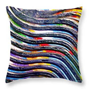 Abstract Series 0615b1 Throw Pillow