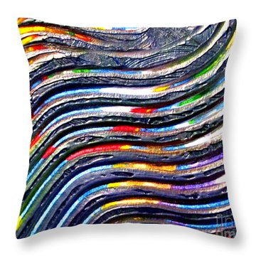 Abstract Series 0615c1 Throw Pillow