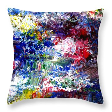Abstract Series 070815 A2 Throw Pillow