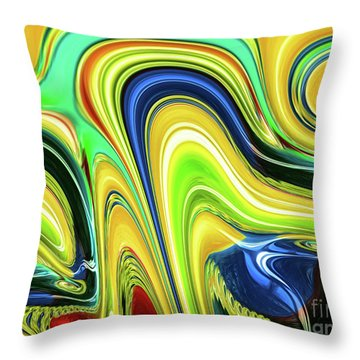 Abstract Series 153240 Throw Pillow