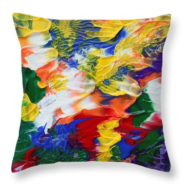 Abstract Series A1015al Throw Pillow