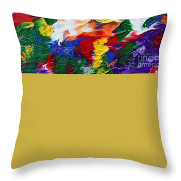 Abstract Series A1015ap Throw Pillow