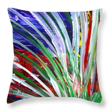 Abstract Series C1015bp Throw Pillow
