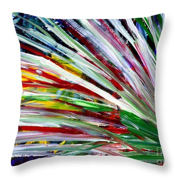 Abstract Series C1015cl Throw Pillow