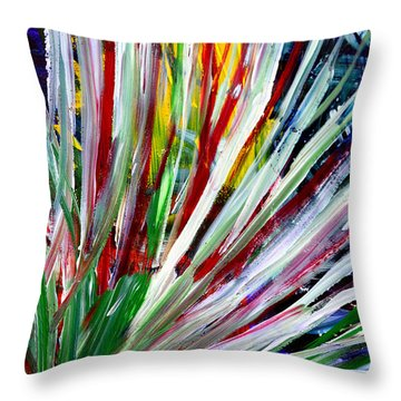 Abstract Series C1015cp Throw Pillow