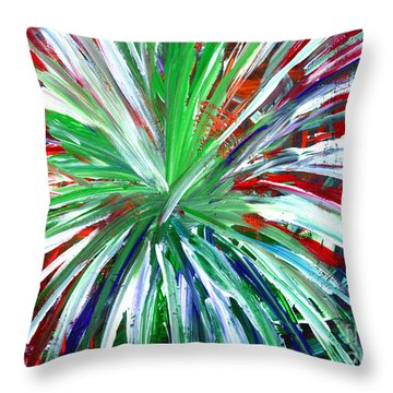Abstract Series C1015dl Throw Pillow