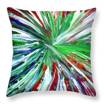 Abstract Series C1015dp Throw Pillow