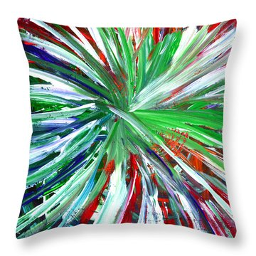 Abstract Series C1015dp Throw Pillow