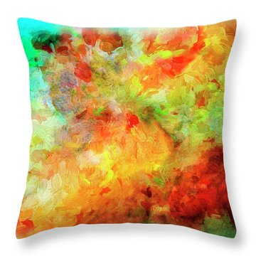 Abstract Series Ex07 Throw Pillow