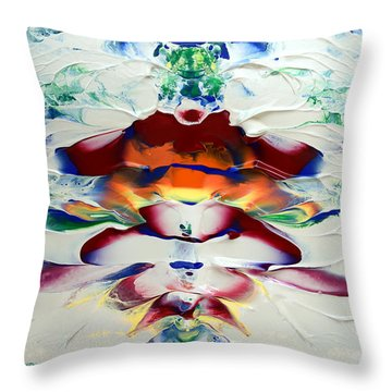 Abstract Series H1015a Throw Pillow