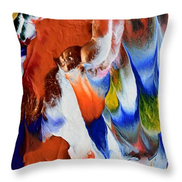 Abstract Series N1015bp Copy Throw Pillow