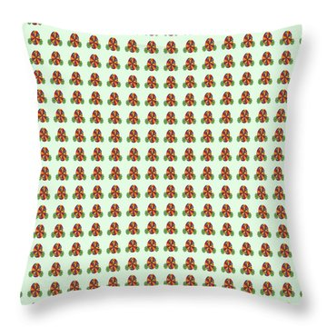 Abstract Square 118 Throw Pillow