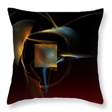 Abstract Still Life 012211 Throw Pillow